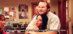 You appreciate every romantic gesture. | Community Post: 15 Signs You And Your Significant Other Are Andy And April