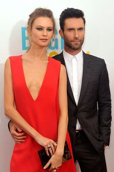 All the details from Behati Prinsloo and Adam Levine's Mexican wedding - Vogue Australia