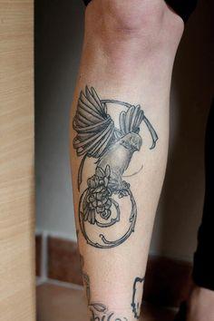 Tattoo bird by Ginger pepper
