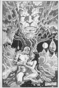 Brunner, Silver Surfer 1, PORTENTS OF GALACTUS  Comic Art