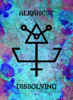 The Alkahest (Dissolving) image for the Transcendence Oracle™ card deck by Aethyrius.