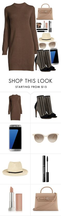 """""""Día de trabajo #14 follow"""" by marii-96-1 ❤ liked on Polyvore featuring Samsung, Chopard, STELLA McCARTNEY, Bobbi Brown Cosmetics, Maybelline and Alexander Wang"""