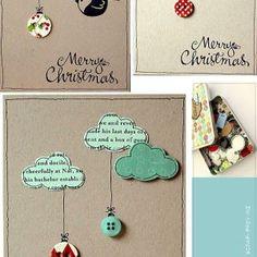 tarjetas de navidad originales hechas a mano tarjetas de navidad pinterest navidad