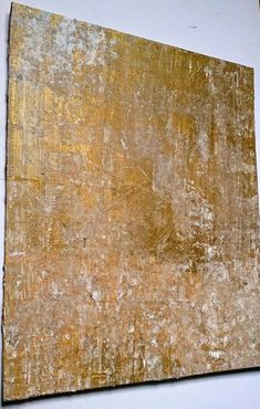 Textured Acrylic Original Painting on 10 x 12 canvas board. Golds, whites and neutral acrylics layered to create rough texture. Painting Size: Approx 10 x 12 Canvas Board Signed: before dispatch Approx 4mm depth Please note that colours may vary on different monitors.