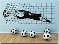 diese idee gefällt vor allem kleinen fußballfans. #lampe ... - Fussball Deko Kinderzimmer