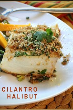This is a recipe for pan seared halibut. Flaky Sweet Halibut is a perfect platform for this toasted cilantro and lime bread crumb topping. It's an elegant, easy and incredibly tasty dinner. Let's take a look at this Pan Seared Halibut recipe. Fish Dishes, Seafood Dishes, Seafood Recipes, Mexican Food Recipes, Dinner Recipes, Cooking Recipes, Healthy Recipes, Top Recipes, Main Dishes