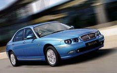 My current car - Rover 75 CDT Connoisseur