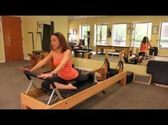 ▶ Pilates Reformer Stretch Sequence - YouTube