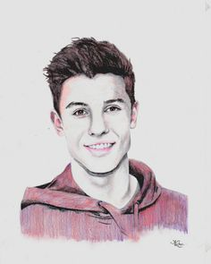 Shawn Mendes done by me - instagram: @kce_art
