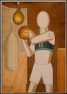 george grosz  ...sportsman 1922
