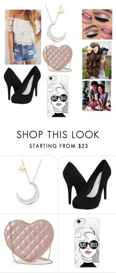 """""""Louis taking me out to lunch to celebrate my birthday"""" by roxyambrose97 ❤ liked on Polyvore featuring Ross-Simons, Michael Antonio, Jessica McClintock and Casetify"""