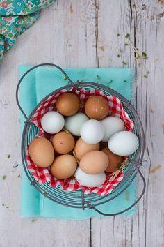 Huevos ecologicos y super frescos. Toda una tentacion