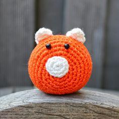 WK varkentje haken | draadenpapier | Gratis patroon van CraftPassion #haken #varkentje #wk #crochet #pig