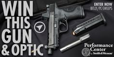 I entered to win a Smith & Wesson® Performance Center® M&P® Ported with Threaded Barrel and Trijicon® RMR® sight!