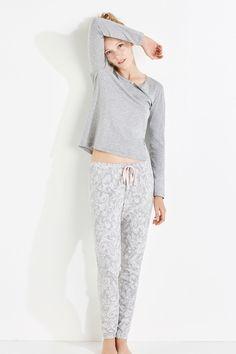 Pijama largo paisley   Pijamas largos   Women'secret