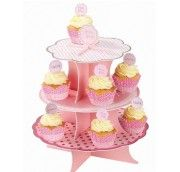 A pink pop up cake stand with three pretty tiers. A pink pop up cake stand with three pretty tiers. - Pink Party Cake Stand Peppa Pig PartyA pink pop up cake stand with three pretty tiers. - Pink Party Cake Stand Hello Kitty FlowersA pink pop up cake stan My Little Pony Party, Fiesta Little Pony, Baby Shower Cupcakes, Cupcake Party, Party Cakes, Cupcakes Roses, Sweetly Cake, Pink Lemonade Party, Red Minnie Mouse