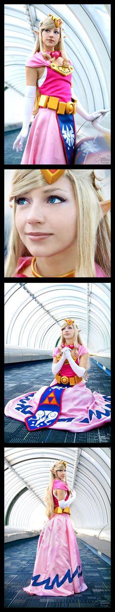 Toon Zelda | http://enchantedcupcake.deviantart.com/art/Toon-Zelda-IV-338767651