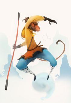 Monkey King (speedpainting) by Sidxartxa on DeviantArt