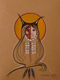 Owl Woman by Eddy Cobiness