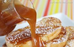 Buttermilk Caramel Syrup by Our Best Bites. Easy, homemade recipe that will be delicious for breakfast!