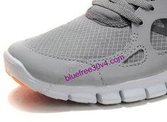 online retailer b7f89 1becc Mens Nike Free Run 2 Shield Stealth Black Orange White