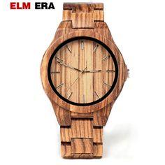 ELMERA holz uhr clok männer relogio masculino holz uhren männer uhr holz hand herren-in Quarz-Uhren aus Uhren bei Aliexpress.com | Alibaba Gruppe In China, Wood Watch, Watches, Accessories, Men's, Man Watches, Alibaba Group, Wooden Watch, Wooden Clock