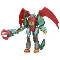 (Fun Games To Play)Transformers Beast Hunters Deluxe Class Ripclaw Figure 5 Inches