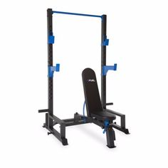 Squat Power Rack Cage & FID Bench Steel Durable Multi Variety Of Exercises