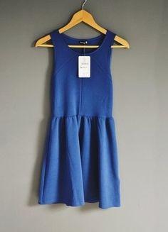 Kup mój przedmiot na #vintedpl http://www.vinted.pl/damska-odziez/krotkie-sukienki/17962552-niebieska-sukienka-sinsay
