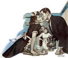 the-art-of-romance: I Didn't Want To Love You - Arthur Sarnoff Vintage Romance, Vintage Love, Vintage Art, Vintage Prints, Vintage Housewife, Pulp Art, Vintage Comics, My Tumblr, Book Illustration