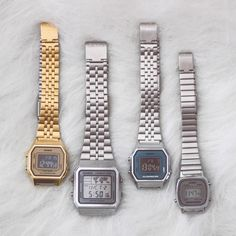 Casio Gold, Casio Watch, Bling Bling, Piercing, Bracelet Watch, Swimsuit, Jewelry Accessories, Ootd, Lingerie
