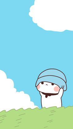 Cute Bunny Cartoon, Cute Cartoon Images, Cute Kawaii Animals, Cute Love Cartoons, Kawaii Cat, Cute Cartoon Wallpapers, Cute Love Pictures, Cute Love Gif, Cute Cat Gif