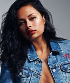Frankie Adams on how to deal with haters, with a killer photo so I put it on fashion photography folder ;)