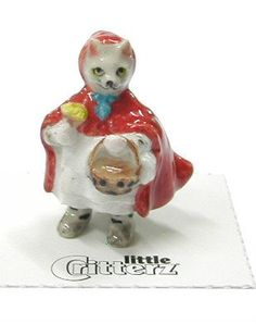 "Amazon.com: Little Critterz ""Little Red Riding Hood"" LC645: Home & Kitchen"