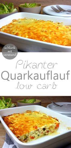 Pikanter Quarkauflauf low carb #abnehmen #lowcarb #lchf #keto #lowcarbrezepte #rezept #rezepte #deutsch #kochen #essen #food #foodblog #foodblogger #schlankmitverstand