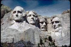 """Learn all about Mount Rushmore, a """"President's mountain"""" devoted to four famous presidents."""