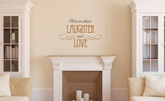 Laughter & Love (two of our favorite things)  #ULvinyl #UppercaseLiving