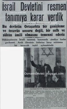 Osmanlı Devleti: İsrail'in devlet olarak tanınması Martini, History, Modern, Historia, Trendy Tree, Martinis