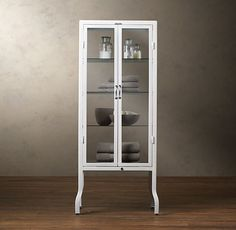 for my future Bathroom, which will hopefully be bigger than my current -Pharmacy Large Bath Cabinet White