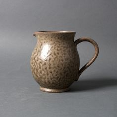 vintage pitcher large vase grey stoneware retro by northvintage