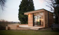 Modern and Eco friendly Garden Office   An Ideal Solution to Working from Home   DesignRulz.com