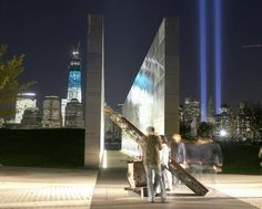 Empty Sky Memorial Liberty State Park, New Jersey | Empty Sky: New Jersey's September 11th Memorial ceremony took place at ...