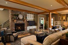"""Living Room 2014 Parade of Homes Runner-Up - """"Best Interior Floor Plan"""""""