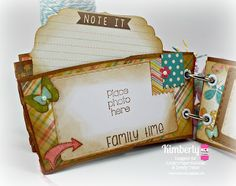 DT Kimberly @ Twine It Up! by Annie's Paper Boutique: Memory Keeping (coffee sleeve mini album) with Trendy Twine using the New Documenting The Everyday stamp set & Documenting The Everyday #2 stamp set, Posy Trendy Twine, Sky Trendy Twine, and Lemon Tart Trendy Twine.