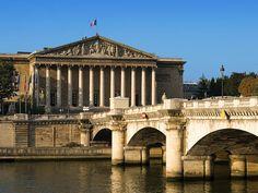 Assemblee Nationale e Pont de la Concorde, Paris