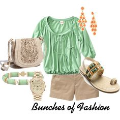 Summer fun, created by cford32 on Polyvore
