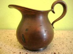 Vintage copper petite pitcher Landers Frary & by SuzyQVintage, $10.00