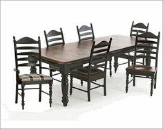 Intercon Solid Wood Dining Set Hillside Village INHV4296SET