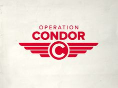 Retro feel, again! Simple brand? I can see the image of the wings, with the CONDOR in the logo. I like that this is simple, but has a few layers.
