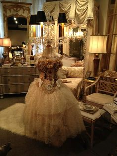 Paris Chic Boutique Shop Home Display Bejeweled by couturelepapier, $2500.00